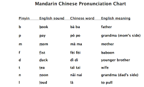 In china, letters of the english alphabet are pronounced somewhat differently because they have been adapted to the phonetics (i.e. Mandarin Chinese Pronunciation Guide Pinyin Cheat Sheet Teaching Tips