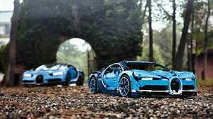The tricolour french flag is found on the mirror caps and the underside of the active rear wing while other components like the brake callipers and wheel centre caps are painted french racing blue. Lego Bugatti Chiron Has An Active Rear Wing And Moving Pistons Autoguide Com News