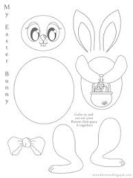 Small Picture Missie Krissie Free Easter Bunny Colouring Cut Out Pages