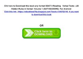 Ssat Essay Examples Ssat Format Insaat Mcpgroup Co