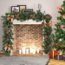 135cm <b>Merry Xmas</b> Christmas Wooden <b>Garland</b> Decoration
