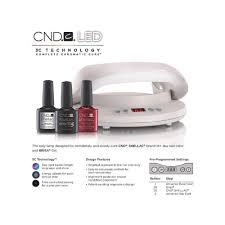 Gel Nail Light Target Cnd Led Professional Uk Nail Lamp Dryer For Shellac Brisa