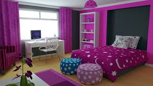 Purple Bedrooms For Girls Painting Girls Bedroom Purple Teens Room A Contemporary Chic