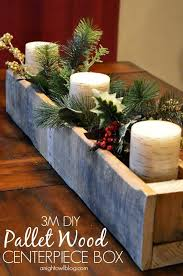 How To Decorate Wooden Boxes 60 Ideas To Decorate Your Home With Recycled Wood This Christmas 53