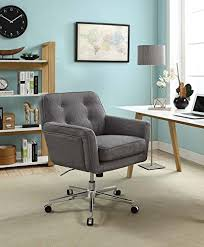 stylish home office chair. Amazon Com Serta Style Ashland Home Office Chair Twill Fabric With Regard To Desk Decorations 6 Stylish O