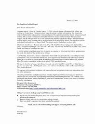 Incident Report Format Letter Beautiful Workplace Incident Report