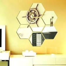hexagonal mirror hexagon mirror tiles wall mirrors hexagon wall mirror 7 acrylic decorative hexagon mirror wall sticker hexagon hexagonal mirror tiles uk