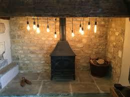 Inglenook Lighting Inglenook Fireplace Edison Lights Inglenook Fireplace