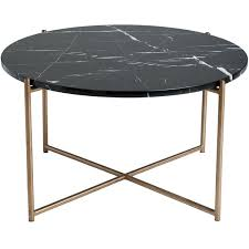 venice round marble coffee table 27 6 greenhouse a spirited collection for the home