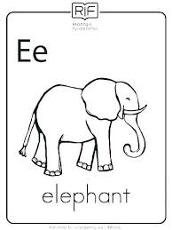 Coloring Pages Elephant Coloring Pages Printable Colouring In