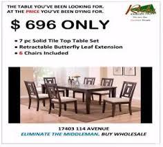 dining room sets for sale edmonton. buy direct from a furniture wholesaler ! dining room sets for sale edmonton