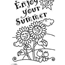 Summer Coloring Pictures Summer Fun Coloring Pages Printable
