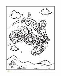 Motocross Coloring Motocross Bike Birthday Parties Motocross