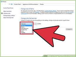 change text size 8 easy ways to change font size on a computer wikihow