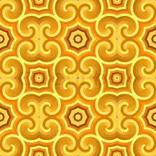 seamless vintage wallpaper pattern orange. Modren Seamless A Vintage Wallpaper Texture That Tiles Seamlessly As A Pattern  Stock  Photo Colourbox For Seamless Vintage Wallpaper Pattern Orange N