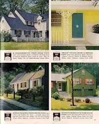 house paint colors exteriorExterior colors for 1960 houses  Retro Renovation