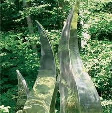 garden sculpture. Flame Sculpture Garden A