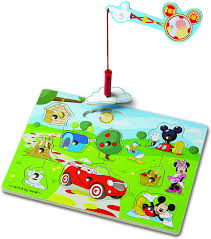 Find kitchen and grocery play sets, sound and wooden puzzles, dress up toys, craft supplies and more for babies. Amazon Com Melissa Doug Disney Mickey Mouse Hide And Seek Wooden Magnetic Game Melissa Doug Toys Games