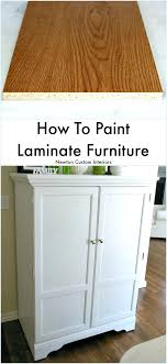 refinish laminate table how to paint laminate furniture resurface formica table