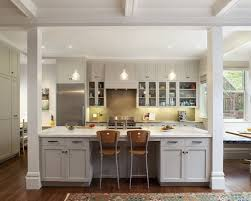 galley kitchen with island at end. attractive galley kitchen design with island m62 about home ideas at end o