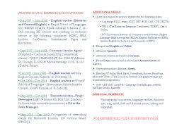 Resume Spanish New Language Arts Teacher Examples Objectivees