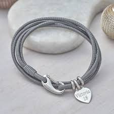 original personalised leather wrap bracelet 6