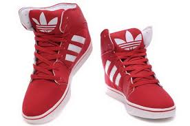 adidas red shoes. adidas skateboard high shoes white red