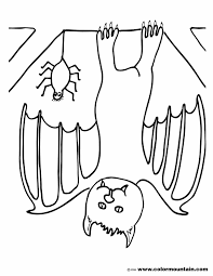 Small Picture Coloring Pages Animals Bats Coloring Pages Printable Bat