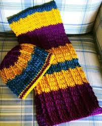 Double Crochet Scarf Patterns Fascinating Double Crochet Front Post Crochet Scarf Pattern With Link To Hat