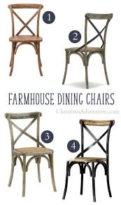 where to solid wood farmhouse dining chairs