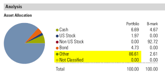 Morningstar Asset Allocation Chart Why Reports Dont Match