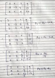 use gauss jordan method to solve nbsp