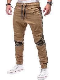 Camo Joint Pockets <b>Jogger</b> Pants - LIGHT <b>KHAKI M</b> | $Decked Shit ...