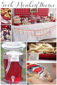 Baby\u0027s 1st Birthday Party Ideas. Sock Monkey Theme. Linen, Lace, \u0026 Love Lace