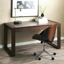 desk wood and metal computer desk narrow pc desk small black rh chacomcupcakes com tall workstation desk executive desks for tall people