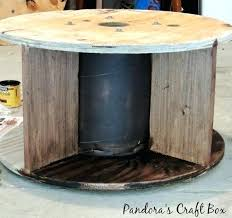 wooden cable spool craft ideas inspired industrial