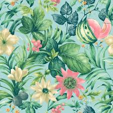 Floral Pattern Wallpaper Magnificent Decorating