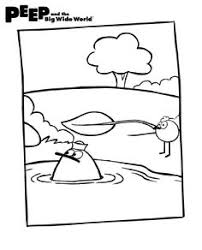 Small Picture Download this free Peep and the Big Wide World coloring page