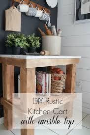 diy rustic bar. Kitchen-Cart-DIY-Rustic-Kitchen-Cart-with-Marble- Diy Rustic Bar O