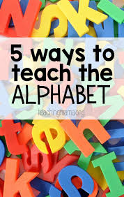 A for alpha, b for charlie, to help you check information on the telephone. 5 Ways To Teach The Alphabet Teaching Mama