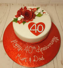 Anniversary Engagement Cakes Quality Cake Company Tamworth