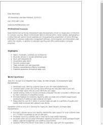 Resume Templates: Independent Sales Representative