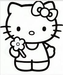 Hello Kitty Redwork And Stitchery Pinterest Kleurplaten Hello