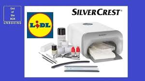 Unboxing Silvercrest Nail Studio Set Sns 45 B4 Lidl 45w Uv A Lamp