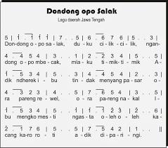 Dibawah ini saya sajikan not angka,not balok dan liriknya dalam bentuk gambar jpg, jpeg dan png. Not Angka Lagu Dondong Opo Salak Jawa Tengah Dan Not Pianika Dondong Opo Salak Jawa Tengah