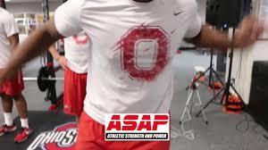 Ohio State Buckeyes Football Training Dot Drill