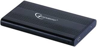 <b>Внешний корпус</b> 2.5'' <b>Gembird</b> EE2-U2S-5, черный, USB 2.0, SATA ...