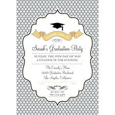 Free Graduation Party Invitation Templates For Word Large Size Of