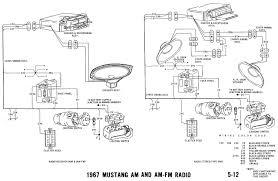 1967 mustang wiring and vacuum diagrams inside 1966 diagram 2004 ford mustang mach stereo wiring diagram at 2001 Mustang Stereo Wiring Diagram