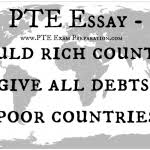 pte food additives essay chemicals in food production and pte essay should rich countries forgive all debts for poor countries